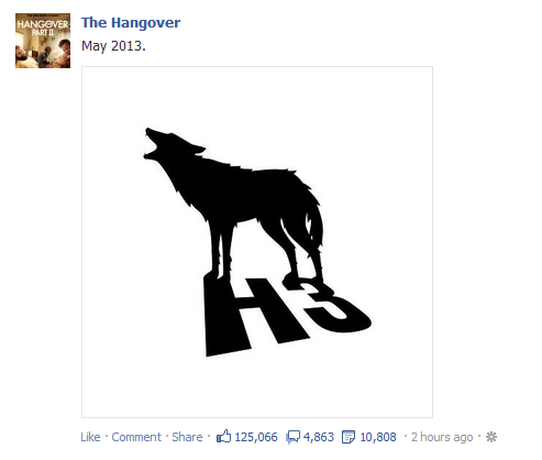 The Wolfpack returns next May…fuck yes. #Hangover3