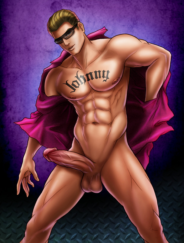 musclesart:  Johnny Pin-up by Z3XY