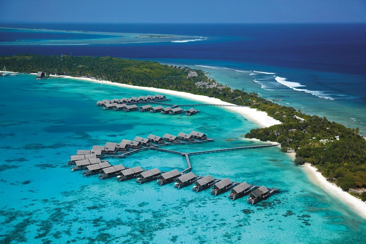 Ariel shot - Maldives