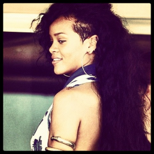She's jus the dopest #riri #dope  (Taken with Instagram)