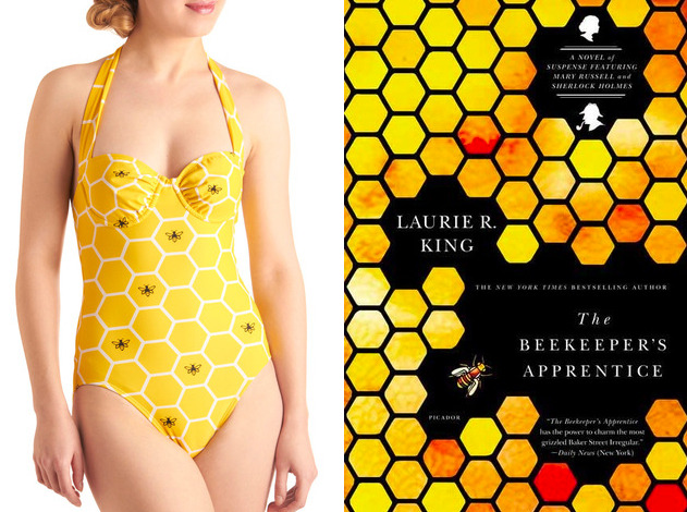 The book: The Bee Keeper's Apprentice by Laurie King