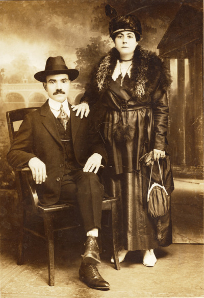 Boston couple c.1900
