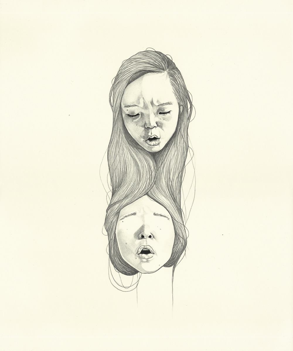 eatsleepdraw:  Argument with Myself, 2011 Haejung Lee