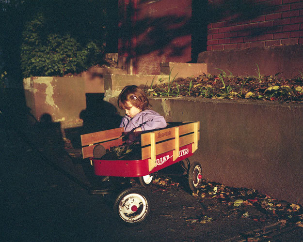 Girl in Radio Flyer, 2009