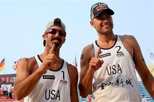 Todd Rogers and Phil Dalhausser I love them Team USA