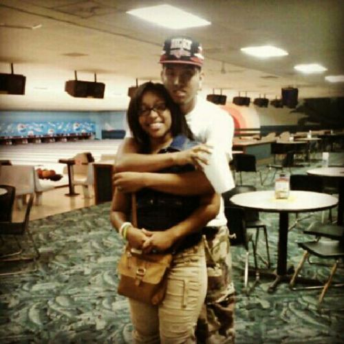 Me && My Bae @ Bowling Alley <3 I Love You :)