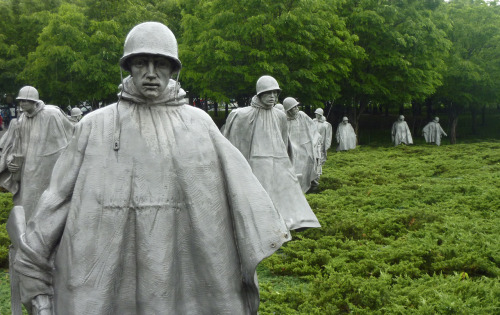 The Korean War Memorial, Washington DC.One of the eeriest places I have ever been. - Monday 14th May, 2012.