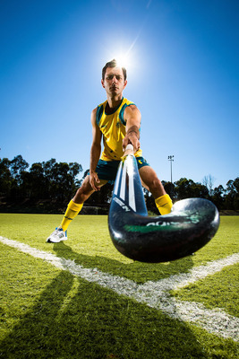 Jamie Dwyer will lead the Australian men's field hockey team at the 2012 Olympics. Dwyer has played over 250 matches for the Kookaburras and scored over 160 goals in that time. He has been voted World Hockey Player of the Year three times and will no doubt be tough to come up against in the London Olympics.
