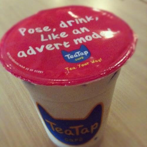 Taken with Instagram at TeaTap Cafe