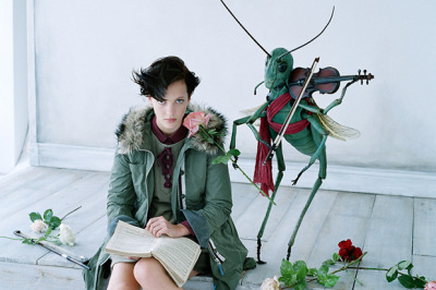 fashion - undercover for uniqlo aw2012 by jun takahashi