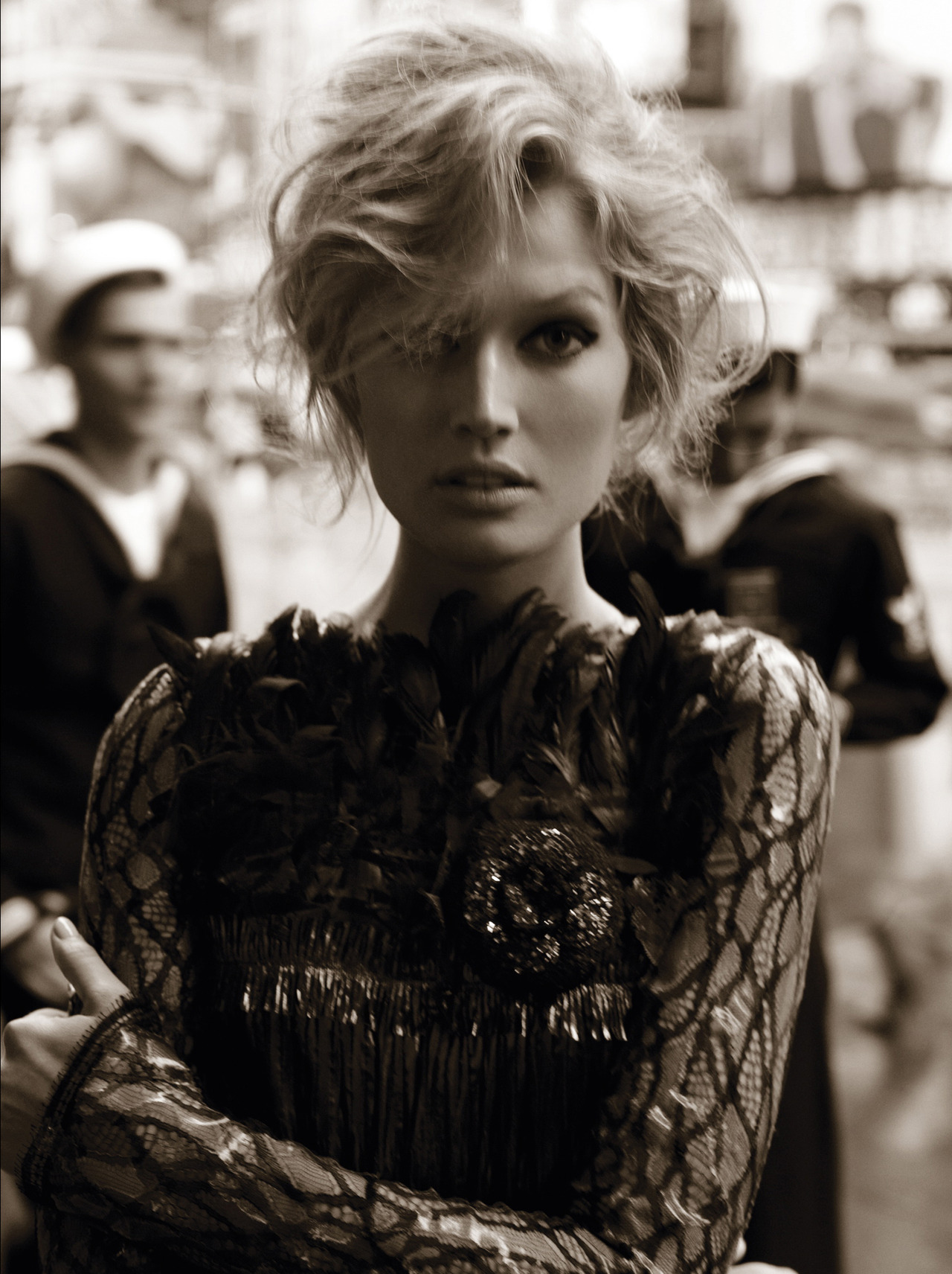 bergdorfprincess:  Toni Garrn for Vogue Germany, August 2012