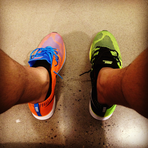 Nike Flyknit RacersWhich color will you choose?  justincondemi:  DECISIONS