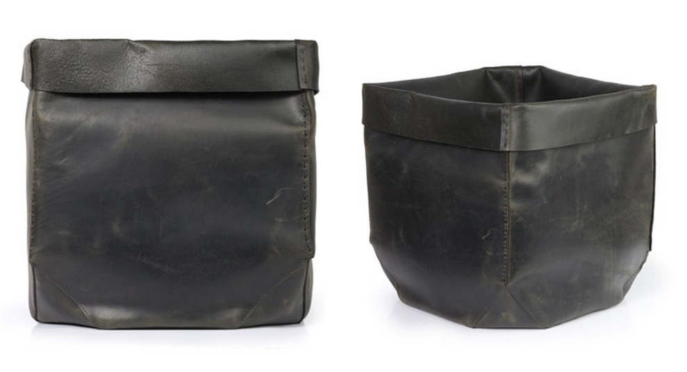 Leather Garbage Box, Rick Owens