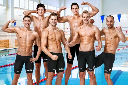Team GB Swimmers Maybe not the best in the world but a nice bunch of lads