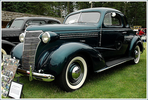 1938 Chevrolet 2-Dr Coupe