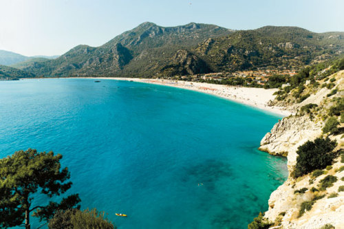 (via Turkey: Olu Deniz, Photo 6 of 10 (Condé Nast Traveller)) Ölüdeniz, Turkey