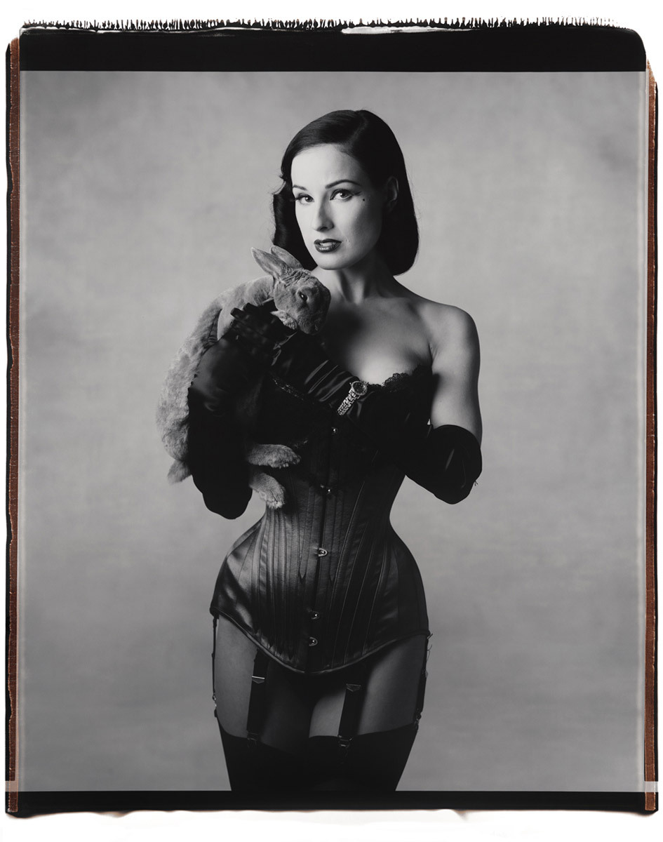 suicideblonde:  Dita Von Teese photographed by Mary Ellen Mark