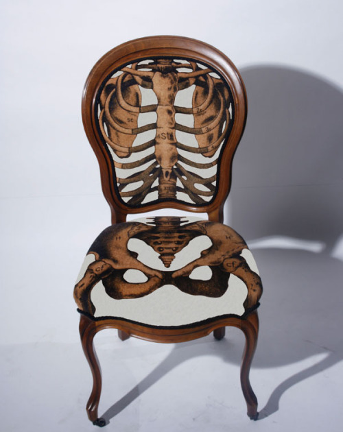 Chairs that fit your skeleton. And organs.