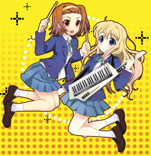 We haven't had any Mugi with a Keytar lately, so here she is with special guest Ritsu.