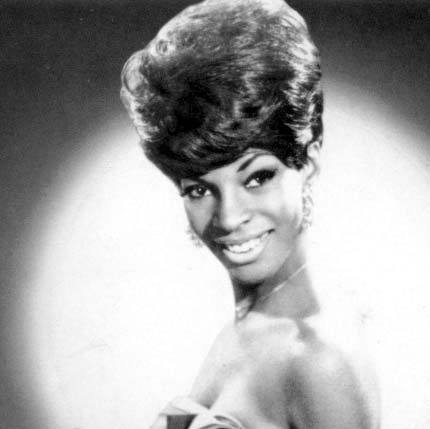 [Martha Reeves and her great beehive c.1960's]