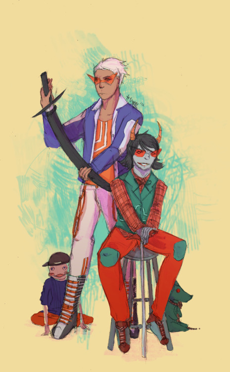 fashionstuck dirk + terezi based on lil cal and neophyte redglare dirk's hands bother me a lot ughhhhhhhh how do i limbs