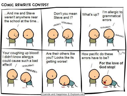 "Though they have some great ones, this must be the best Cyanide and Happiness strip ever. It is definitely our favorite!  ""Like"" or reblog if you can relate!"