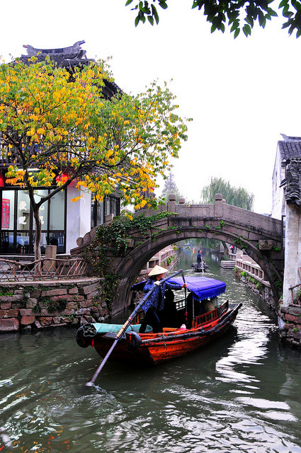 visitheworld:  The Venice of the East, Zhouzhuang in Jiangsu province, China (by Melinda).