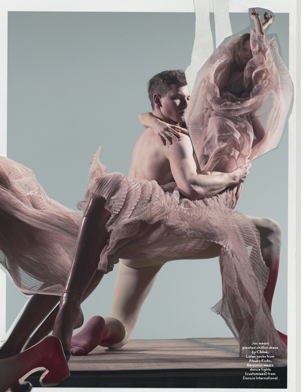 anothermag:   AnOther Magazine S/S11 Photographed by Nick Knight, styled by Alister Mackie