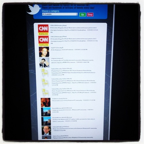 #15MinutesofFame On The #Twitter Feed @Newseum #newseum - #travel #DC #upgradeyourlife @AHAlife #igers #webstagram #instahub #ipopyou #bestoftheday #picoftheday #photooftheday #fashionoffice  (Taken with Instagram)