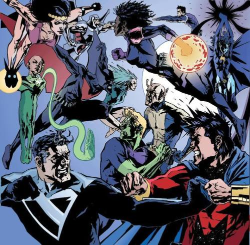 JLU vs the Legion of Superheroes