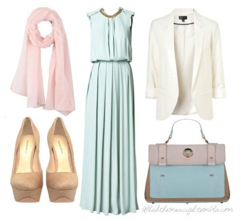 allahthemerciful:  #Hijab #Pastels #Modest