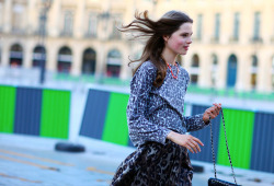 Paris Haute Couture Fall 2012 streetstyle