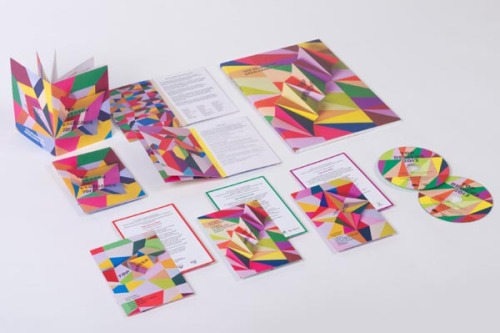 weandthecolor:  VCE Season of Excellence 2012 Melbourne-based design studio A Friend of Mine by Suzy Tuxen created the identity design for the VCE Season of Excellence 2012 (a series of events and exhibitions to show a selection of the best works by VCE students). via: WE AND THE COLORFacebook // Twitter // Google+ // Pinterest  lovee