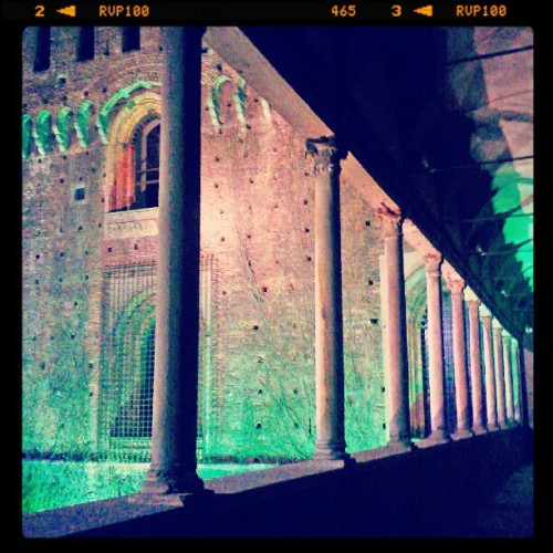 #Milan #Milano #Castle cinema all'aperto (Taken with Instagram) This is a picture of mine ( Goldmund100 )