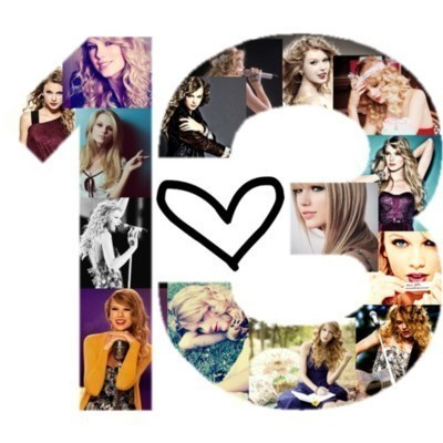 taylors-swiftie13:  Thirteen ♥¹³