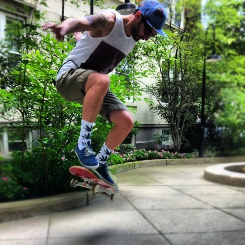 Got some skating in this weekend (Taken with Instagram)