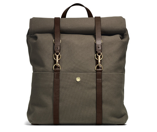 Mismo Army Brown Backpack