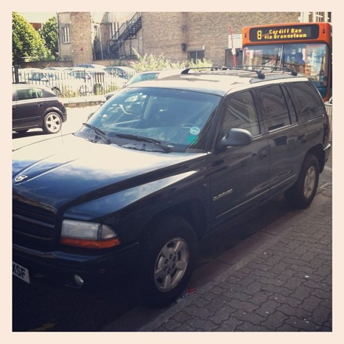 Why are you in Wales, Dodge Durango? (Taken with Instagram at Post Office)