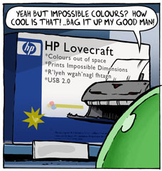 HP Lovecraft Printer