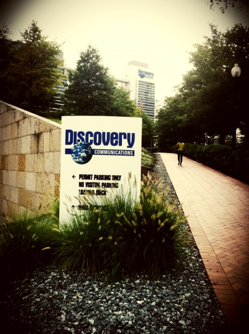 Heading to my destination and saw Discovery Communications here. at Discovery Communications