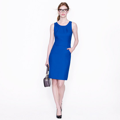 I'd work this: jcrew (blue) dress for success!