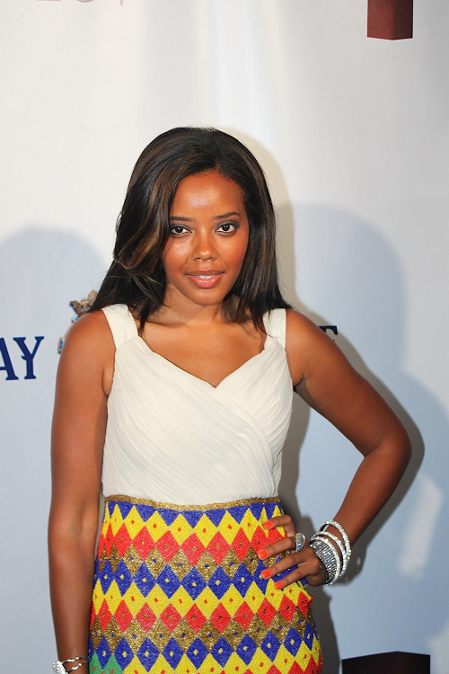 Get the Look: Angela Simmons's 2012 Art for Life Benefit Virgos Lounge Zaina Dress