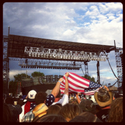 River Ruckus 2012! Frankie Ballard, Chris Cagle and ERIC CHURCH!