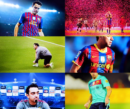 """Xavi is a player who has the Barcelona DNA: someone who has the taste for good football, someone who is humble and someone who has loyalty to this club. From the first moment I saw him play, I knew he would become the brain behind Barcelona for many years to come. He plays very, very well, and much better than I ever played even when I was at my best."" - Pep Guardiola"
