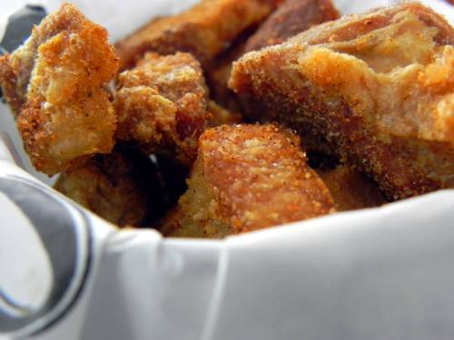 Pork Cracklins from Toups' Meatery