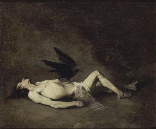 piratedistributing:  Augustin Théodule Ribot | St. Vincent (of Saragossa), 19th Century.