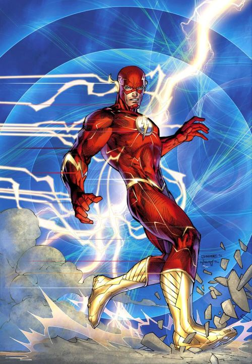 thefandomzone:  THE FLASH by Jim Lee