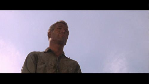 "Cool Hand Luke Still #1 ""I wish you'd stop being so nice to me Cap'n."""