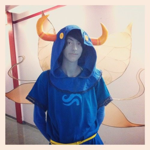 mistersagitari:  precious tavros god tier cosplay