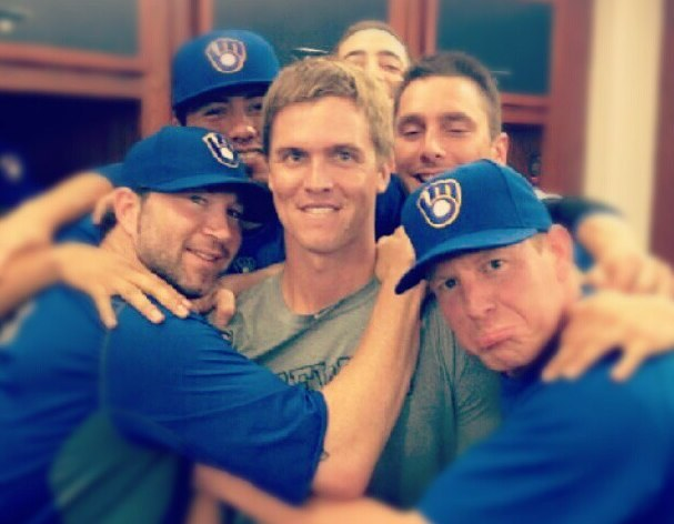 Zack Greinke's former teammates are really going to miss him.